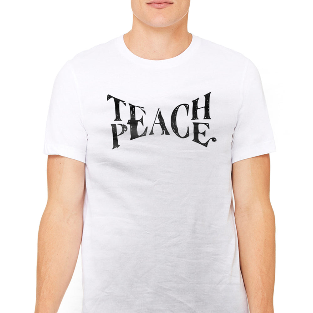 Men's Teach Peace Awareness Graphic T-Shirts