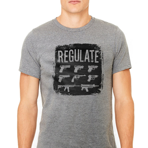 Unisex Regulate Guns Graphic T-Shirt