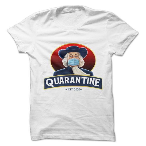 Quaker Quarantine Oats Graphic T-Shirt