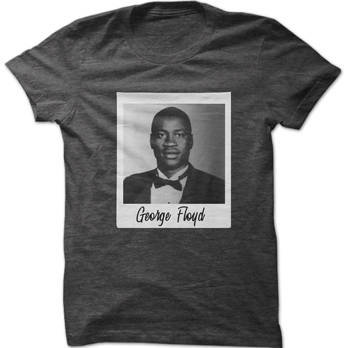 Say His Name George Floyd Graphic T-Shirt