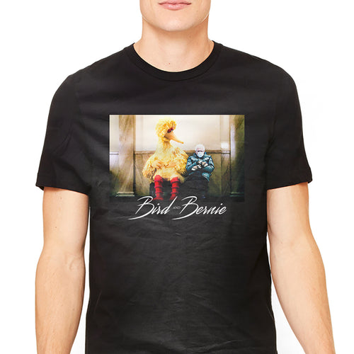 Big Bird and Bernie Graphic T-Shirt