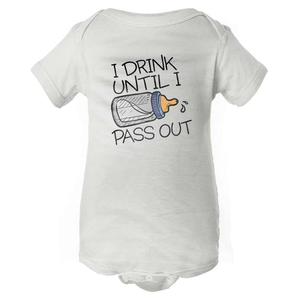 Drink & Pass Out Baby Onesie
