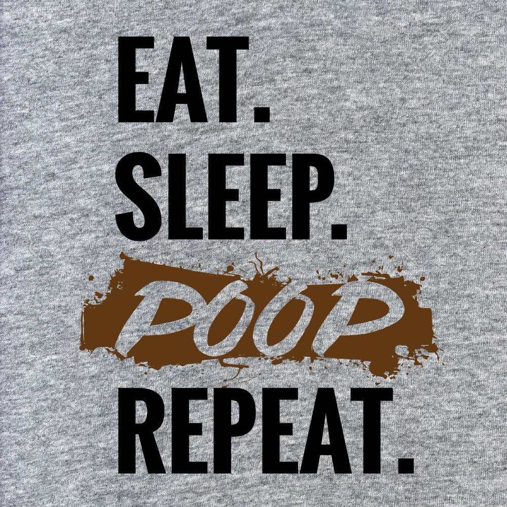 Eat Sleep Poop Repeat Baby Onesie
