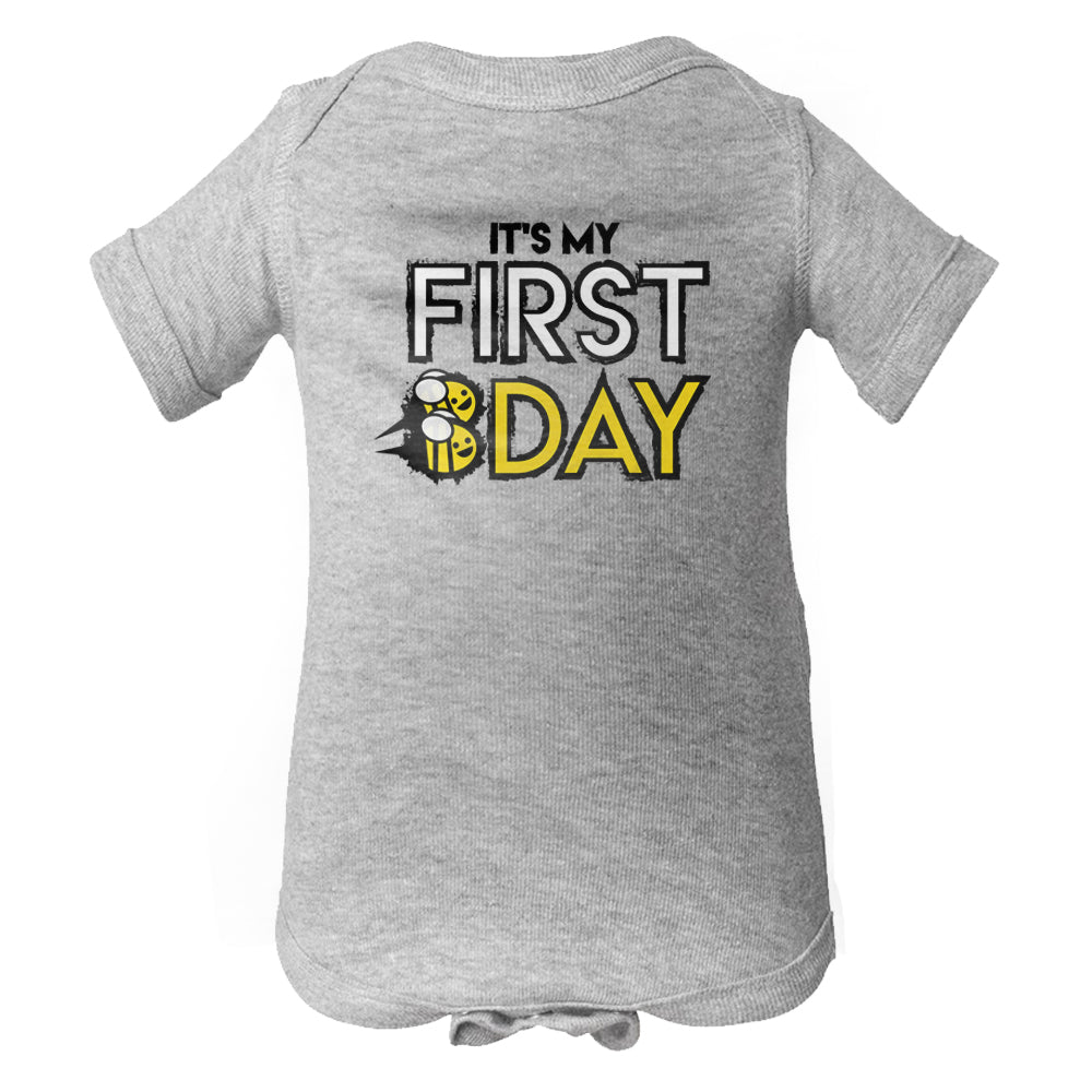It's My First Bee-Day Baby Onesie