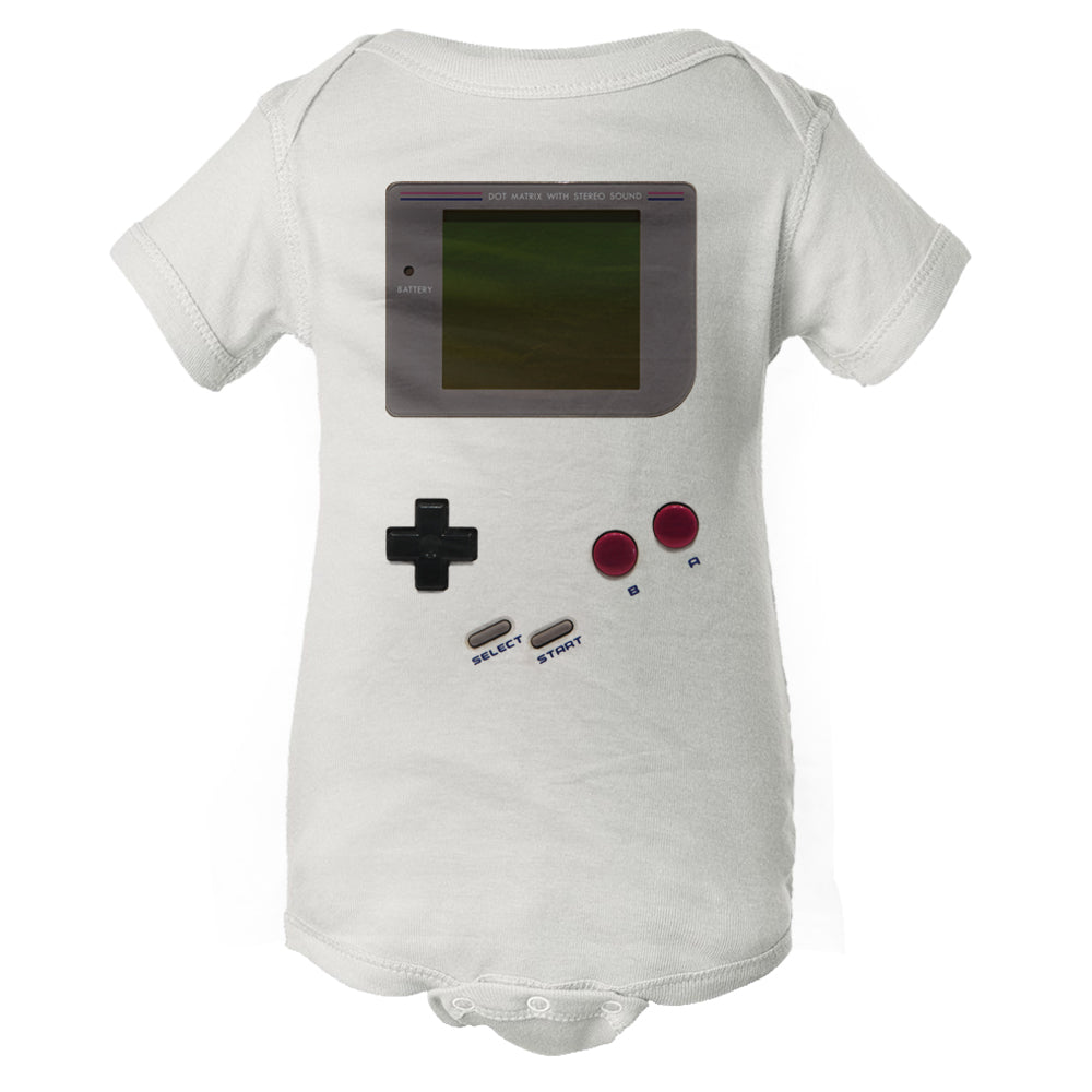 Classic Gameboy - Vintage Video Game - Baby Onesie