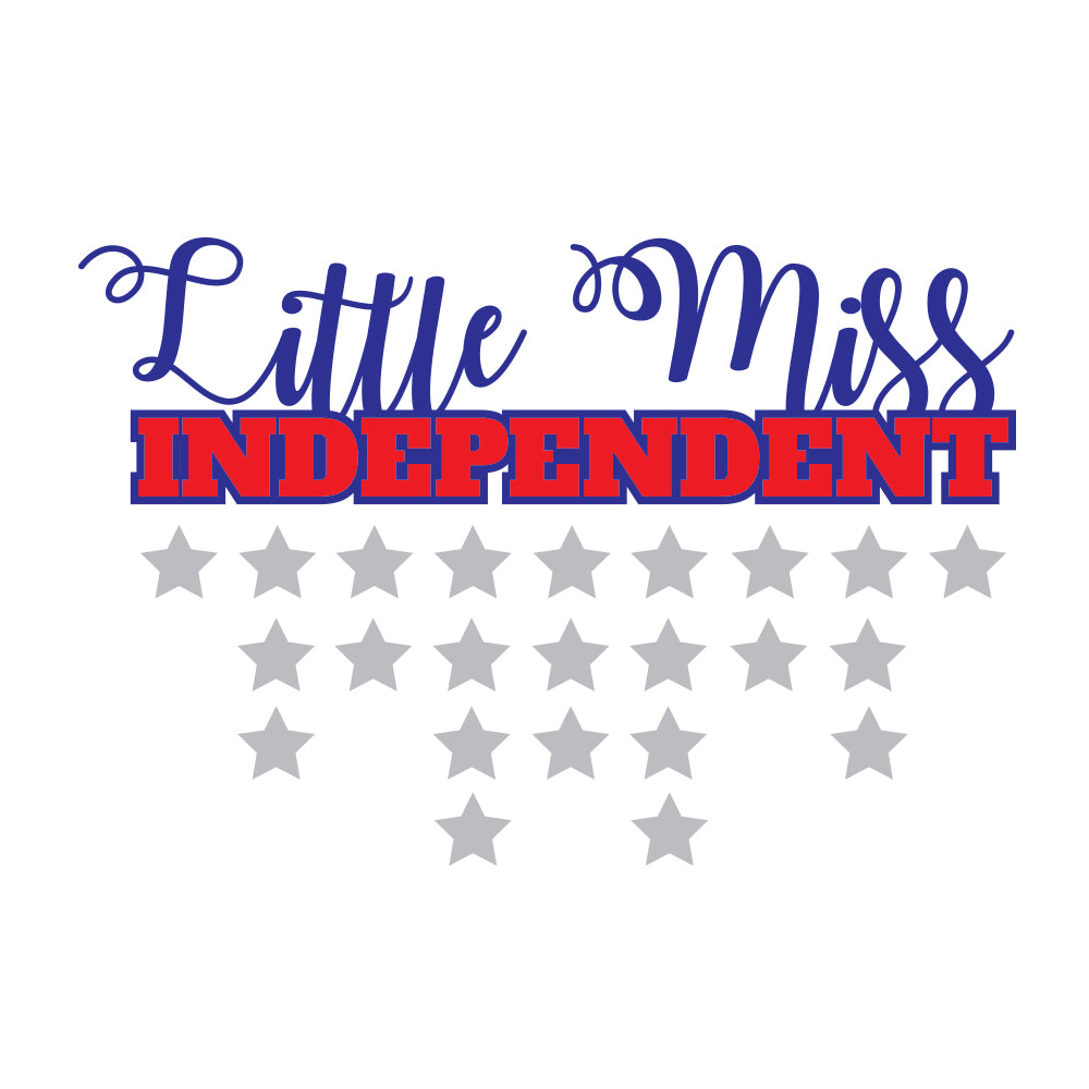 Little Miss Independent Baby Onesie
