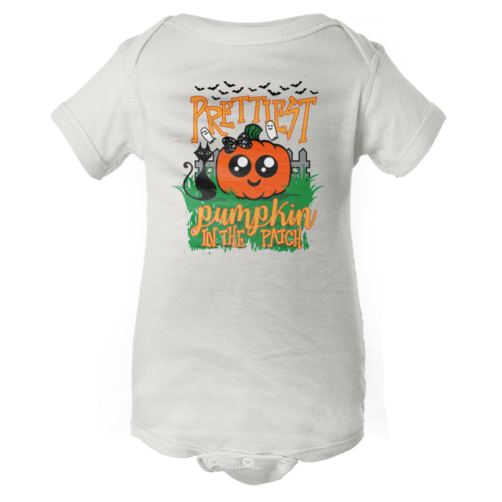 Prettiest Pumpkin In The Patch Baby Onesie