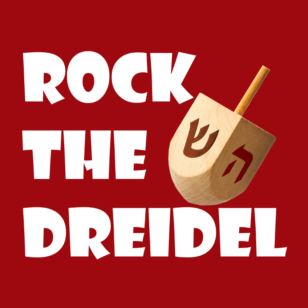 Rock The Dreidel Baby Onesie