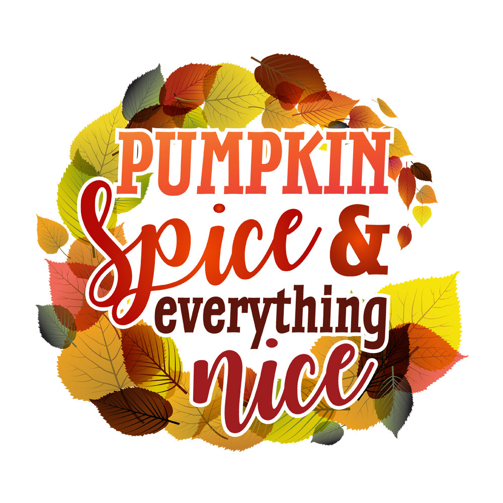 Pumpkin Spice & Everything Nice Baby Onesie