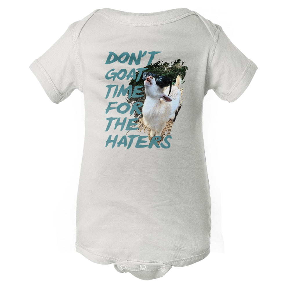 Don't Goat Time For The Haters Baby Onesie