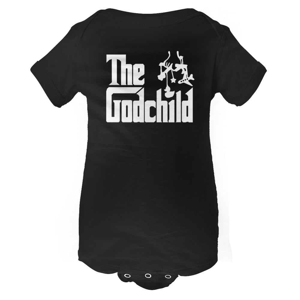 The Godchild Baby Onesie