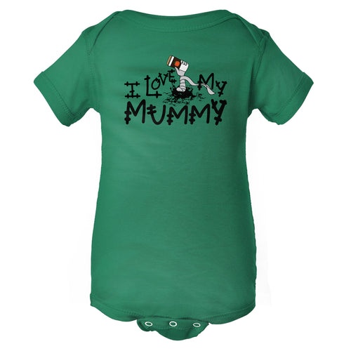 I Love My Mummy Halloween Baby Onesie