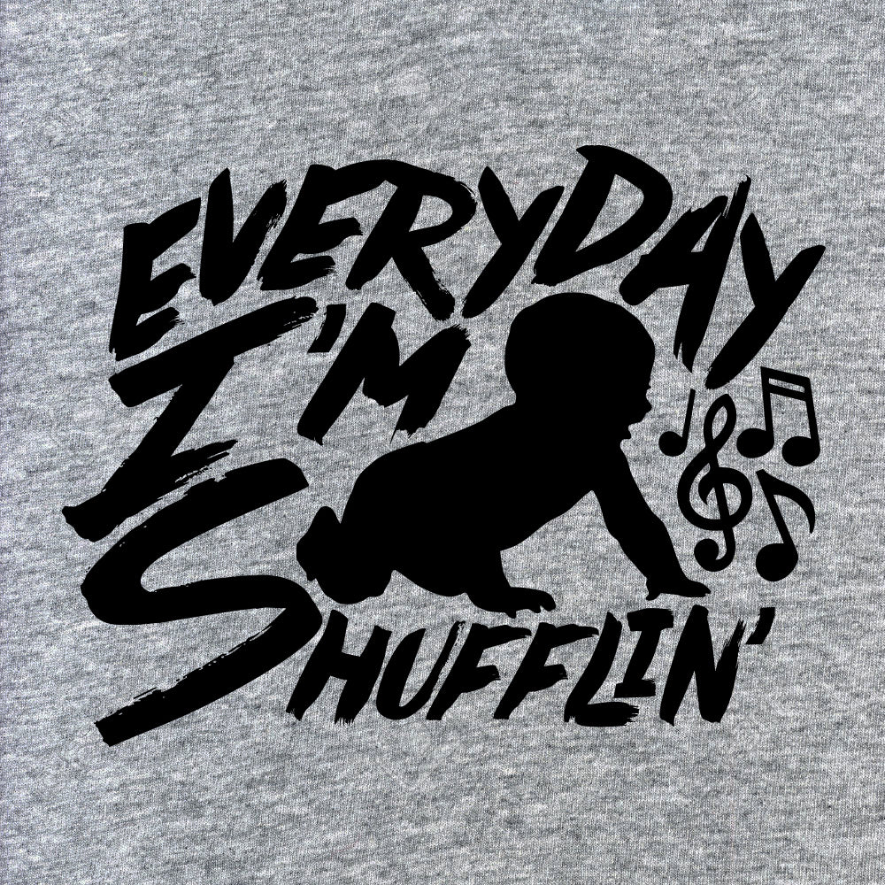 Everyday I'm Shufflin Baby Onesie