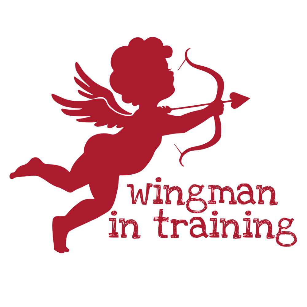 Wingman In Training Baby Onesie