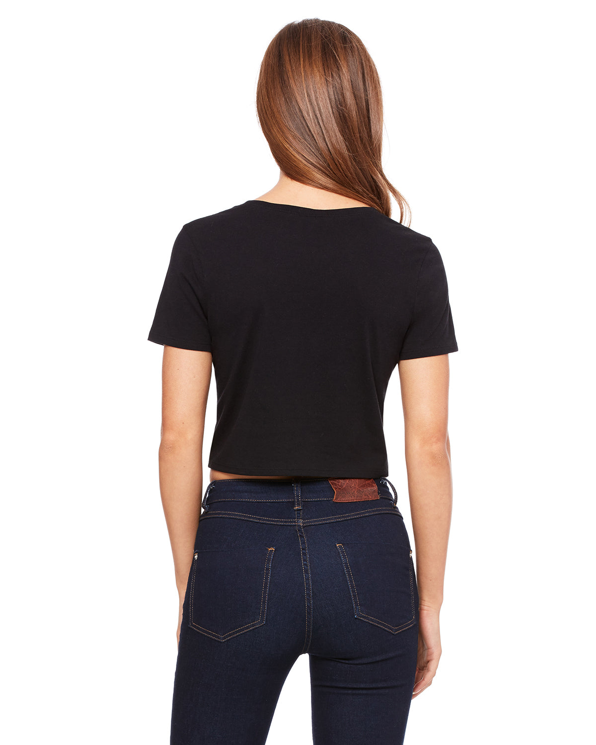 Nap Queen Crop Tee Black