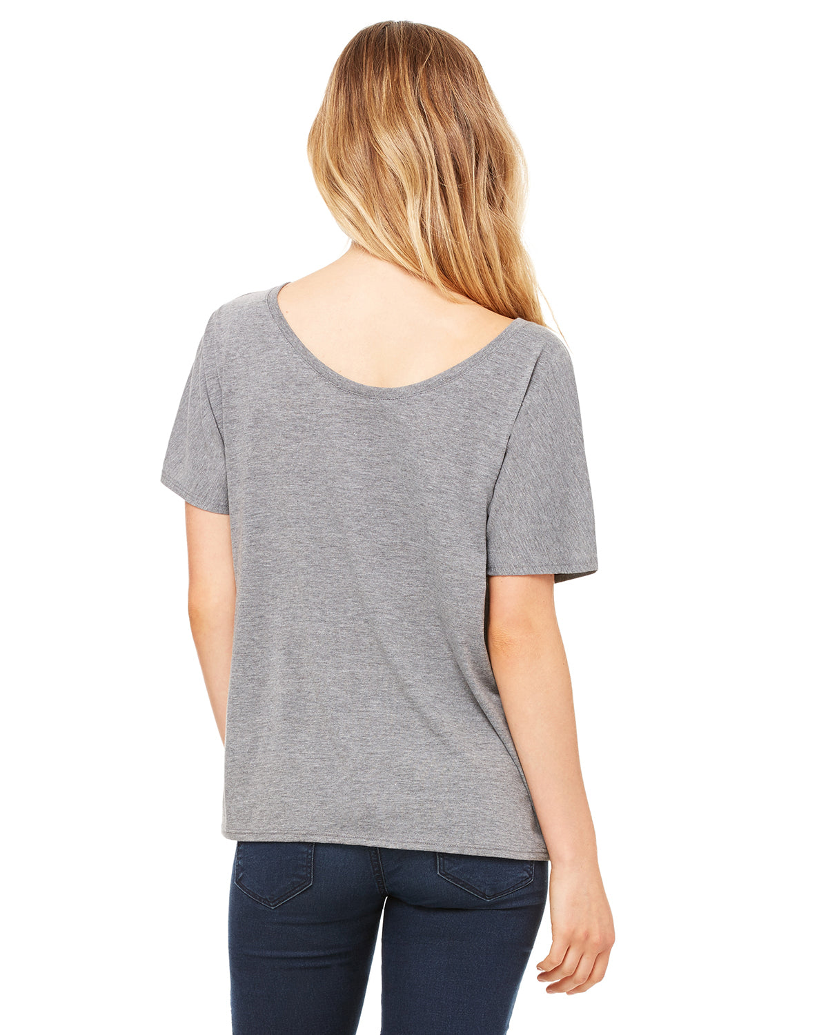Nap Queen Slouchy T-Shirt Gray Triblend