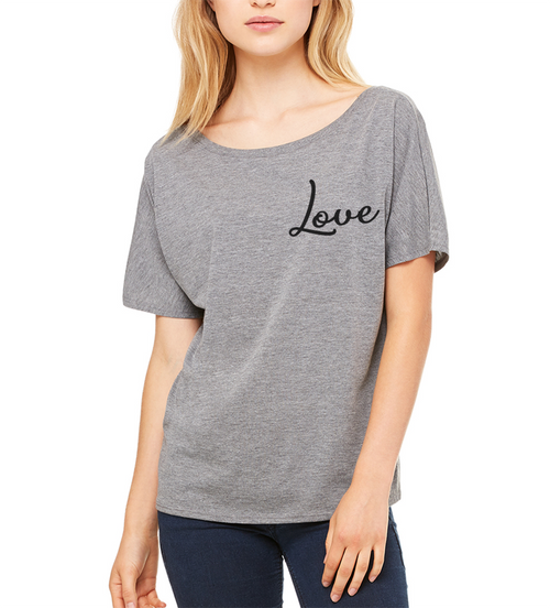 Love Slouchy T- Shirt
