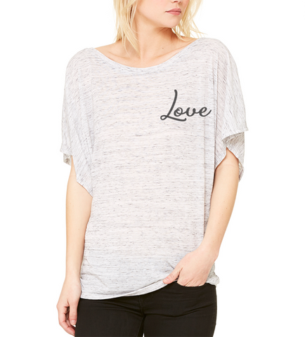 ESSR Draped Sleeve Dolman Shirt