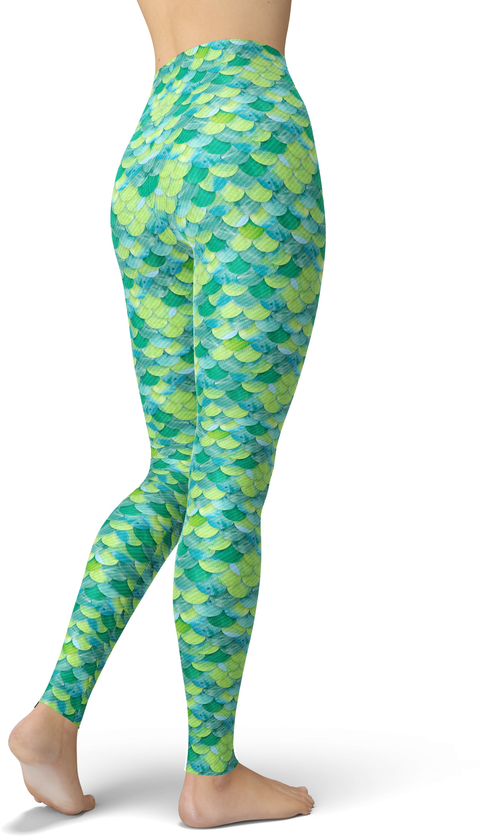 Flounder Fishcale Leggings