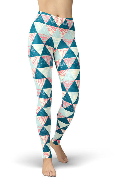 Printed Pyramid Leggings