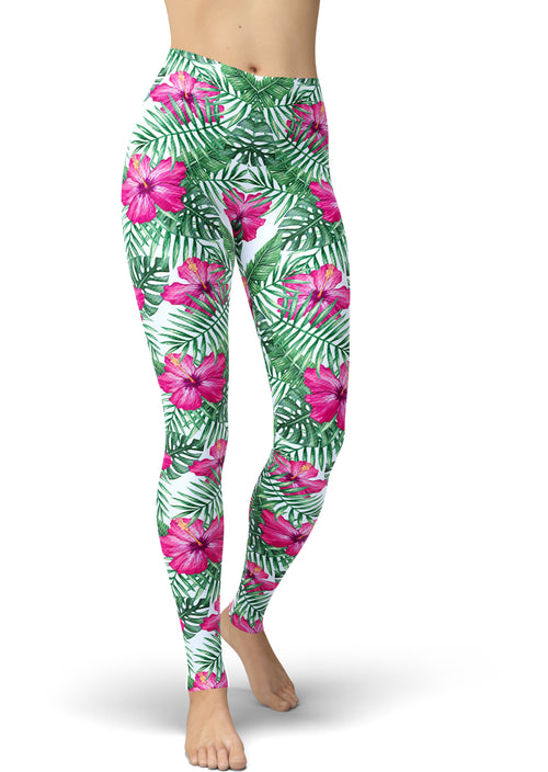 Aloha Pink Tropical Legging
