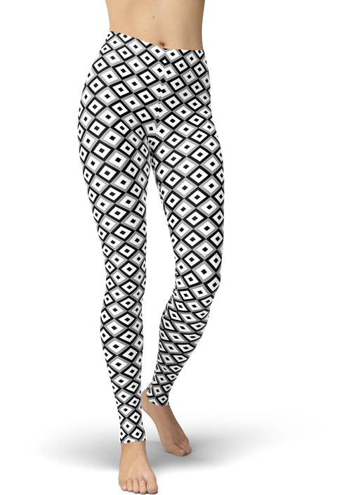 Gray Diamond Leggings