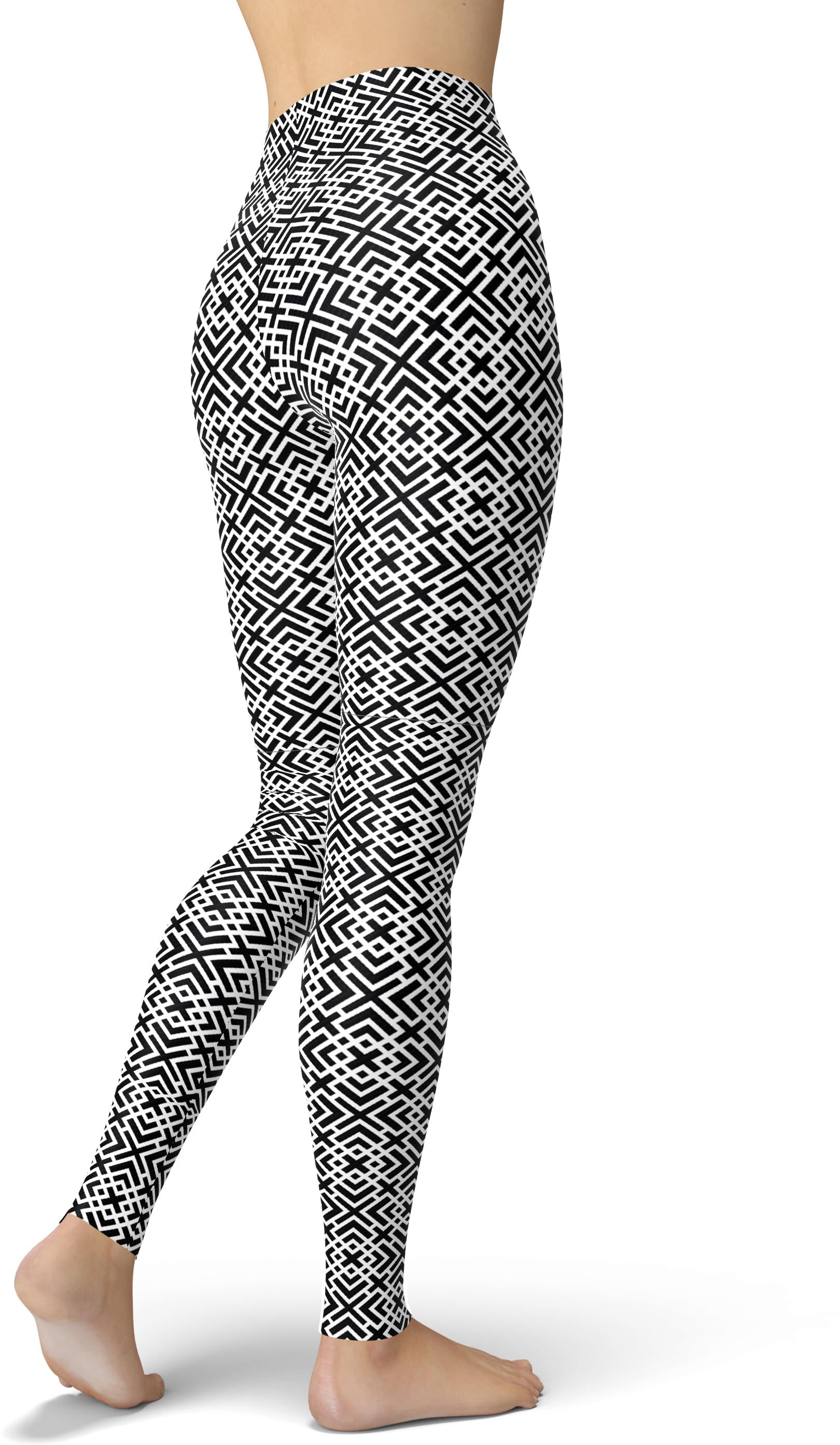 Negative Geo X Leggings