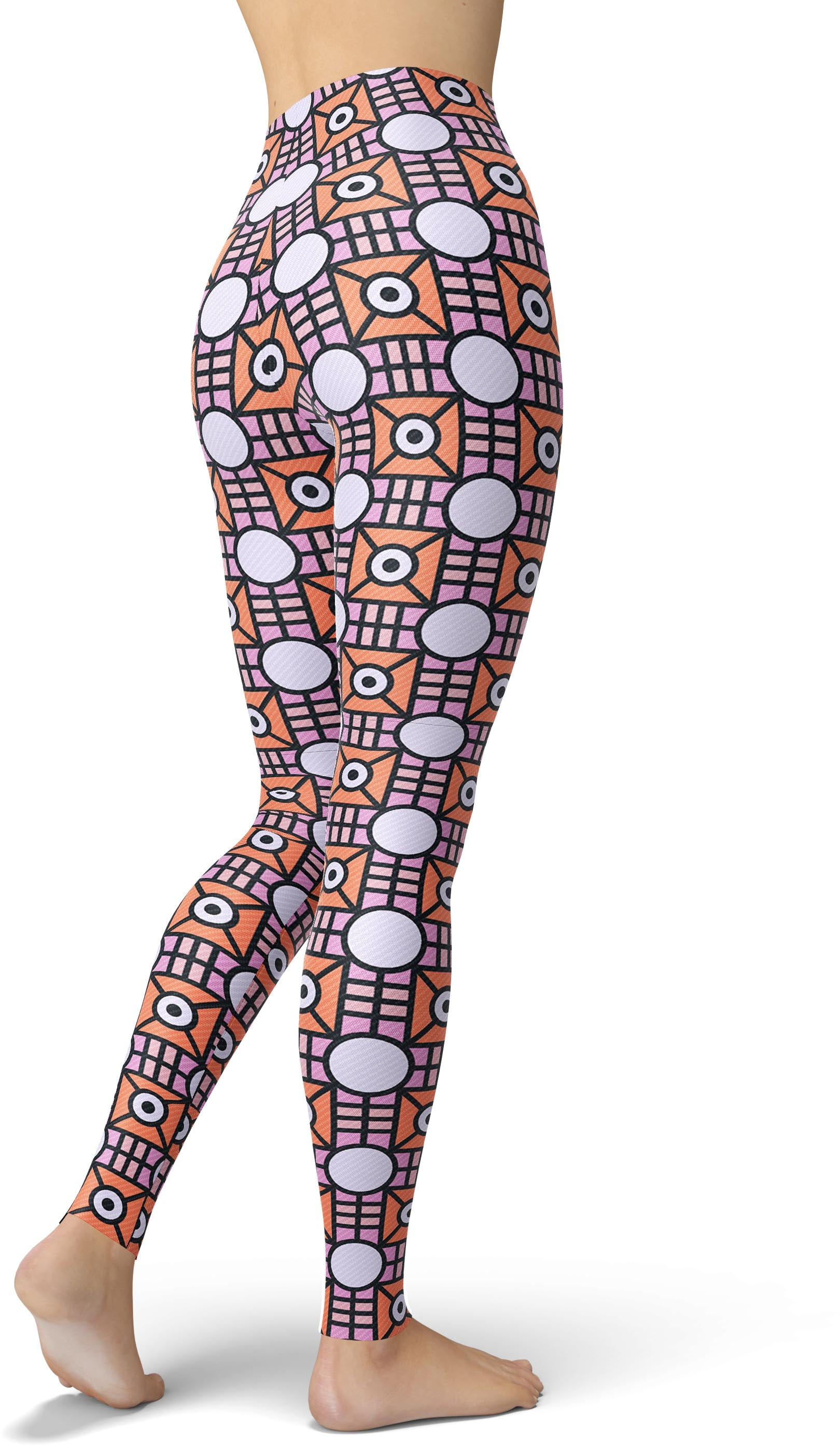 Geometric Funk Leggings