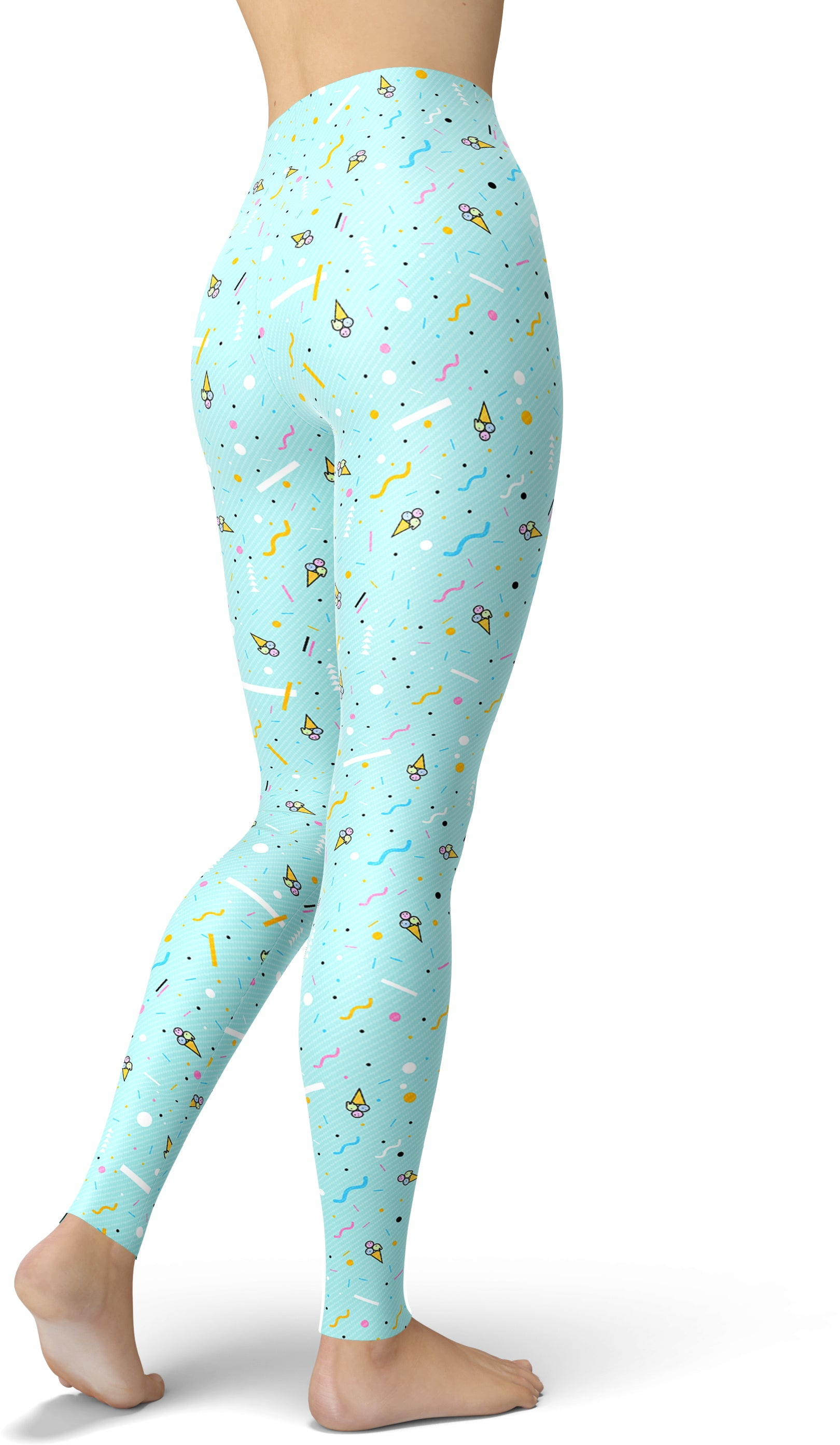 80s Mint Chip Leggings