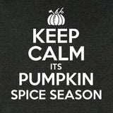 Keep Calm It's Pumpkin Spice Season Crew Sweatshirt
