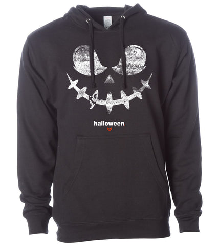 Halloween Flying Witch Crew Sweatshirt
