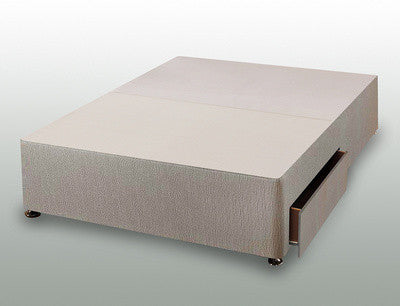 Double 2 drawer divan base 135cm