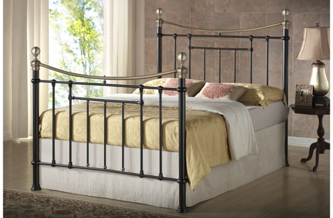 Bronte double metal bed frame 135cm
