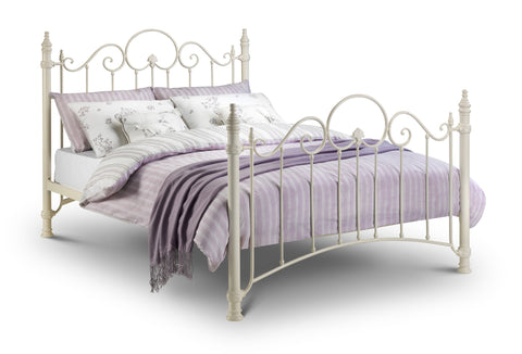 Florence double metal bed frame 135cm