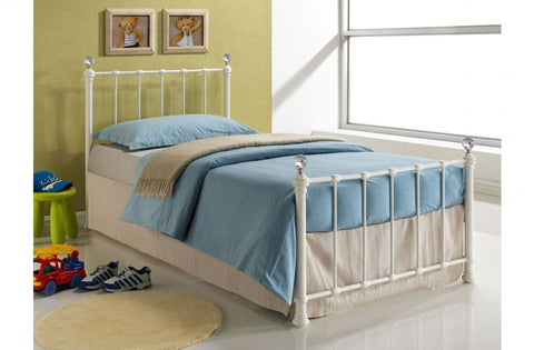 Jessica single metal bed frame 90cm