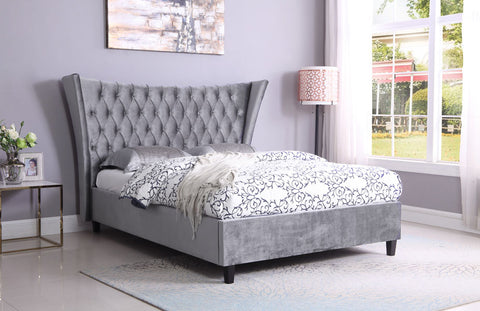 Parker Velvet double bed frame