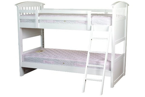 Ruby white bunk bed