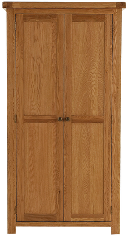 Elder oak 2 door wardrobe