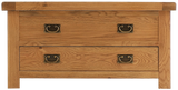 Elder oak 2 door 2 drawer wardrobe