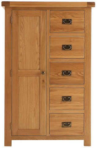 Elder oak combi wardrobe