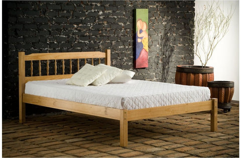 Santos single pine bed frame 3ft