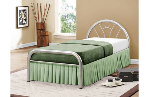 Solo single metal bed frame 90cm
