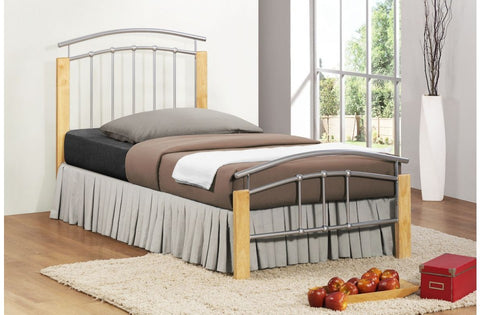 Tetras single metal bed frame 90cm