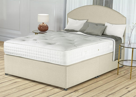 Siesta Bamboo pocket 1000 small double divan bed