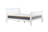 Belford White Small double bed frame