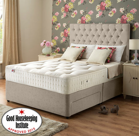 Rest Assured Ortho double divan bed