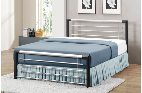 Faro single metal bed frame 90m