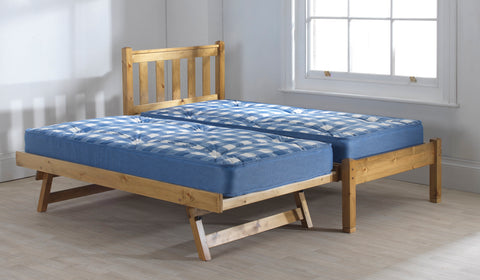 Shaker Pine guest bed