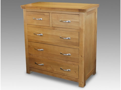 Manhattan honey Oak 2 over 3 chest