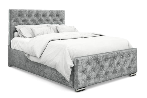 Monaco Fabric Small Double bed frame